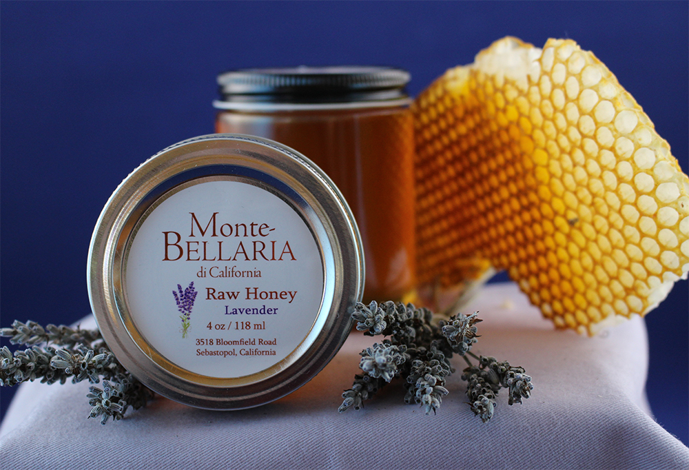 Monte-Bellaria Lavender Honey